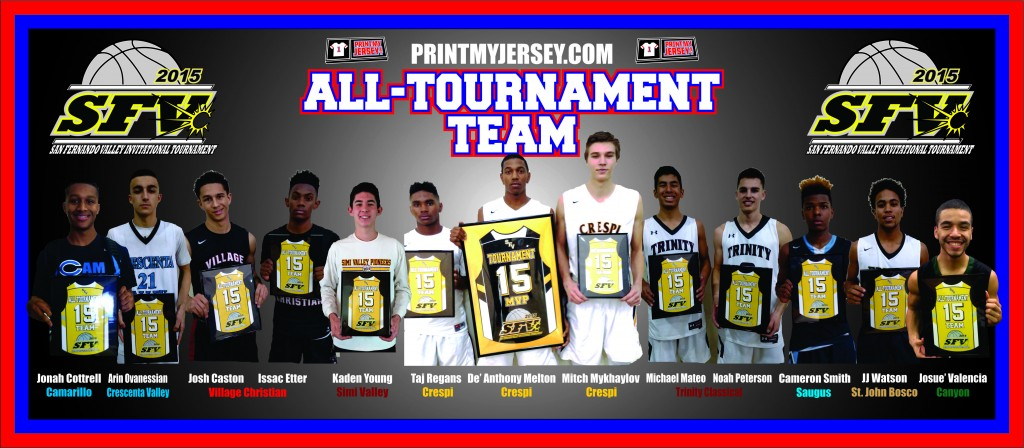 2016 All-Tournament Team